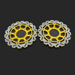 Left Right Brake Disc Rotor For CBR600 CBR1000RR CB1000R CB1300SF CB1284 Gold
