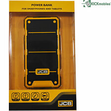 JCB Rugged Power Bank Torch 6000mah Android iPad iPhone Tablet Smartphone