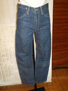 Pantalon jeans coton bleu LEVIS 00005 couture tournante w28 L32 36fr 20PA13