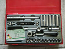 Kit TengTools TT1435 set cricchetto 1/4 bussole 35pz usag beta Teng Tools