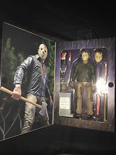 """NECA Friday the 13th Part 4 JASON VOORHEES Ultimate 7"""" figure Brand New In Box"""