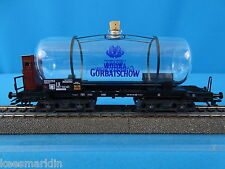 Marklin 44530 Four Axled GLASS Tanker Car WODKA Gorbatschow