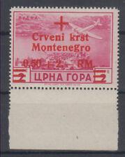 Montenegro Italian occupation red cross Mi#35 1944 MNH **