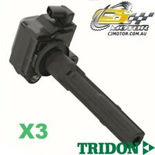 TRIDON IGNITION COIL x3 FOR Lexus  ES300 MCV20R 10/96-08/98, V6, 3.0L 1MZ-FE