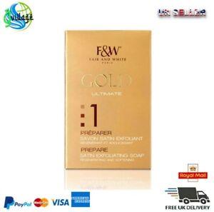 Fair and White Gold 1 Prepare Satin Exfoliating Soap 200g
