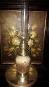Lampe à pétrole vintage KOSMOS BRENNER XIXe siècle