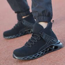 AU Men's Steel Toe Safety Boots Work Labor Shoes Hiking Sport Indestructible