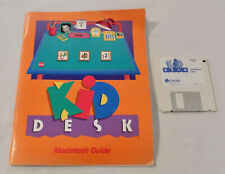 Kid Desk Learning Games Macintosh Floppy Discs Vintage Computer Edumark