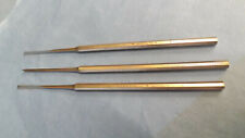 3 Pc Lot Udimcolite Stainless Steel Dental Instrument Tool Chisels 1 Amp 3