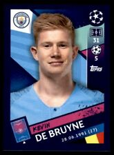 Topps Champions League 2018/19 - Kevin De Bruyne Manchester City FC No. 168