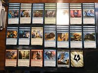 54 Energy Cards Commander Deck Staples w/ Tokens Vedalken Rogue Tribal poss.