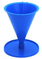 Cone candle mould. Candles 3 - 9cm high + instructions + stick + peg + putty