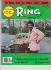 The Ring Magazine May 1976 Muhammad Ali Coopman George Foreman