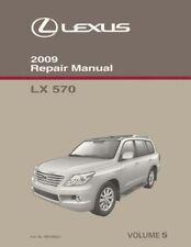2009 Lexus LX 570 Shop Service Repair Manual Volume 5 Only