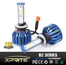 Xprite B2 Blue Series 9006 COB CREE LED Headlight Conversion Kit 60W 6k 8k White