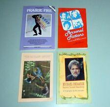 4 Book MICHAEL ONDAATJE Interviews Poetry RUNNING IN FAMILY Ceylon Leonard Cohen