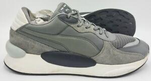 Puma RS 9.8 Gravity Suede Trainers 370370-02 Grey/White/Black UK11/US12/EU46