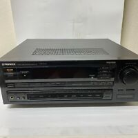 Pioneer VSX-511S Audio Stereo Receiver Dolby Pro-Logic Made in Japan Black
