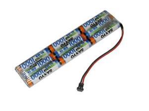 Sender Antriebsakku Panasonic AAA 10.8V1000mAh 3L, Stecker frei wählbar...