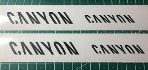 Spezial Angebot CANYON Aufkleber Rad Bike MTB Decal Sticker - Set mit 4 Stück -