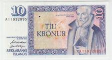 Iceland 10 Kronur 1961 Pick 48 UNC