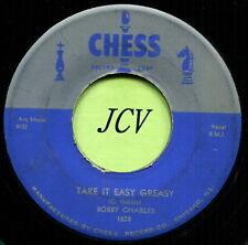 BOBBY CHARLES (Take It Easy Greasy / Only Time Will Tell) ROCK  45 RPM  RECORD