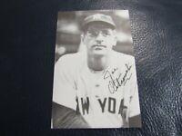 Joe Ostrowski Autographed Photo Postcard PSA Pre Certified