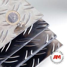 RIFFELBLECH 50x1080x2,5/4,0mm Duett ALUMINIUM Stoßschutz nirosta Metall