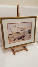 ARABIC BOAT SCENE LIMITED EDITION PRINT SIGNED