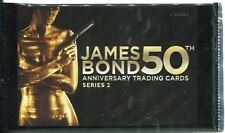 James Bond 50th Anniversary Series 2 Factory Sealed Hobby Packet / Pack