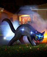 Halloween Black Cat Animated Outdoor Decoration Light InflatableUp 5 foot Tall