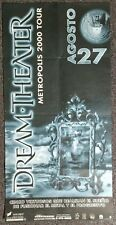 Dream Theater Metropolis 2000 MEXICO CONCERT POSTER
