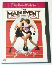 The Main Event A Glove Story DVD.  Barbra Streisand, Ryan O'Neal.  Snapcase