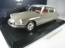 CITROEN DS 19 1958 1/18 NOREV (MARRON GLACE/BLANC CARRARE)