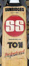 SS TON Professional English Willow Cricket Bat
