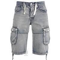 Mens Shorts EMS487 Designer Cargo Combat Branded Summer Shorts Waist Size 28-42