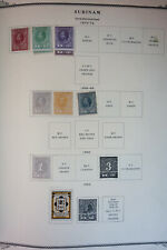Suriname Strong Stamp Variety Collection