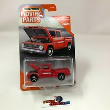1963 Chevy C10 Pickup * RED * 2020 Matchbox Moving Parts Case K