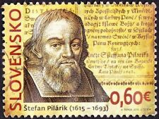 Slovakia - 2015 - .60 Euros Stefan Pilarik Famous Writer Commemorative Issue