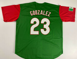 2017 Mexico Baseball Jerseys #23 Adrian Gonzalez Stitched Custom Any Names Gifts