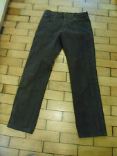 "WRANGLER DARK BROWN TROUSERS JEANS 32"" X 32"" TEXAS STRETCH"