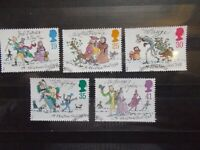 GB 1993 Commemorative Stamps~Christmas~Very Fine Used Set~UK Seller