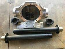 "Ford 9"" INCH REAR END ALUMINUM HOUSING W/STEEL AXLE LEGS & BIG BEARING ENDS 3/8"