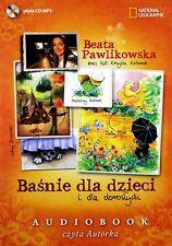 BAJKI dla dzieci i dla doroslych CD MP3 Beata Pawlikowska audiobook POLSKIE
