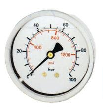0-250 bar Hydraulic Pressure Gauge 63mm dia , stainless steel