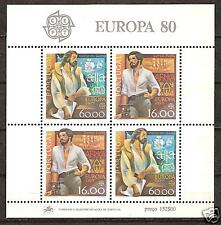 PORTUGAL # 1461a MNH Europa 1980