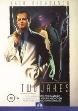 The Two Jakes Jack Nicholson Harvey Keitel Meg Tilly Region 4 Dvd Vgc