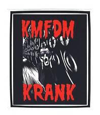 KMFDM - KRANK - Aufkleber Sticker - Neu