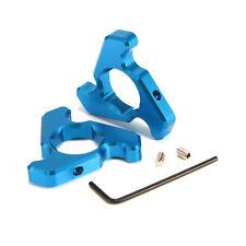 Motorcycle 14mm Blue Front Fork Preload Adjusters Kit Aluminum For Yamaha YZF-R1