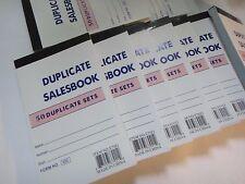 "144X-Sales Book Order Receipt Invoice Carbon less 50 sets 3.5""x5.5"" US Seller"